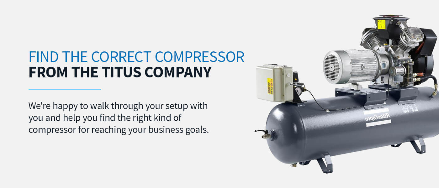 Find the Correct Compressor From the Titus Company